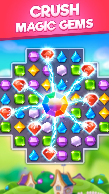 Bling Crush-Gem Match 3 Puzzle screenshot-0