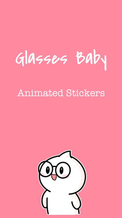 Glasses Baby Animated Stickers screenshot-0