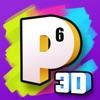 Paint.ly 3D - 减压数字填色游戏