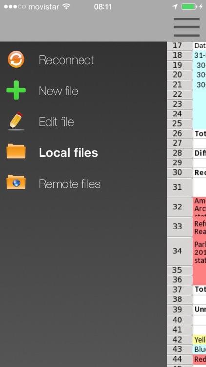 XlsOpen spreadsheets editor screenshot-3