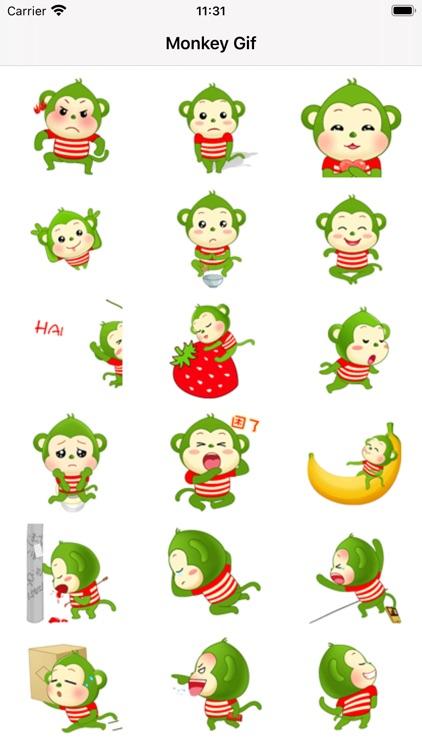 Monkey-Stickers