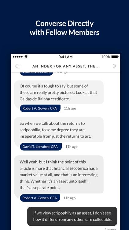 CFA Institute Members screenshot-3