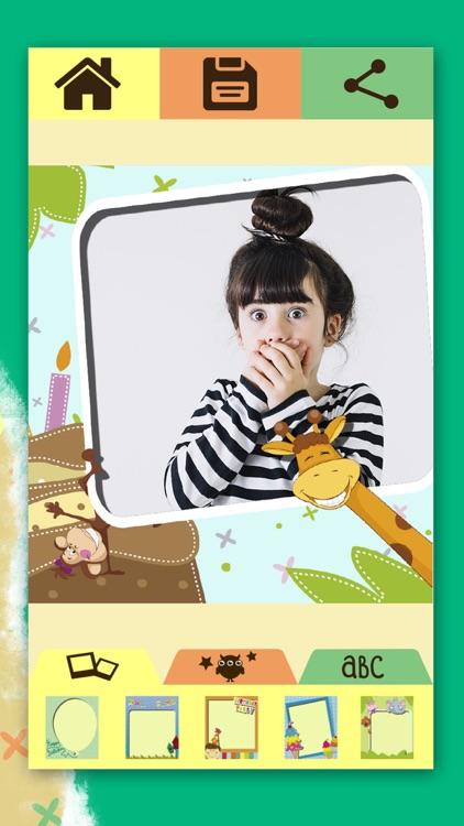 Happy birthday greeting frames screenshot-3