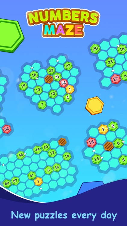 Numbers Maze Puzzle screenshot-4