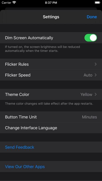 Flashlight Timer - Timed Torch screenshot-3