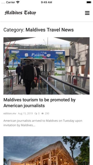 Maldives Today screenshot 6