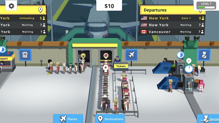 Idle Tap Airport screenshot-4