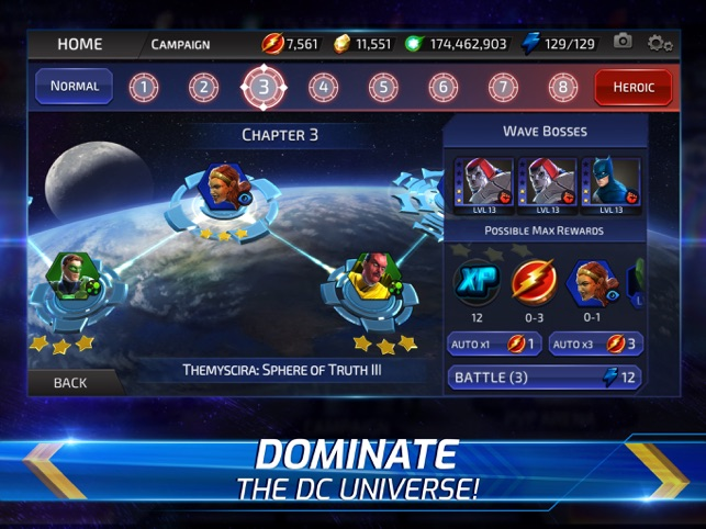 DC Legends: Battle for Justice on the App Store