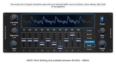 Harmonic Exciter AUv3 Plugin screenshot 2