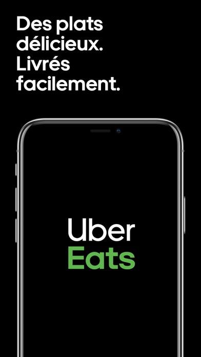 Screenshot for Uber Eats : livraison de repas in France App Store