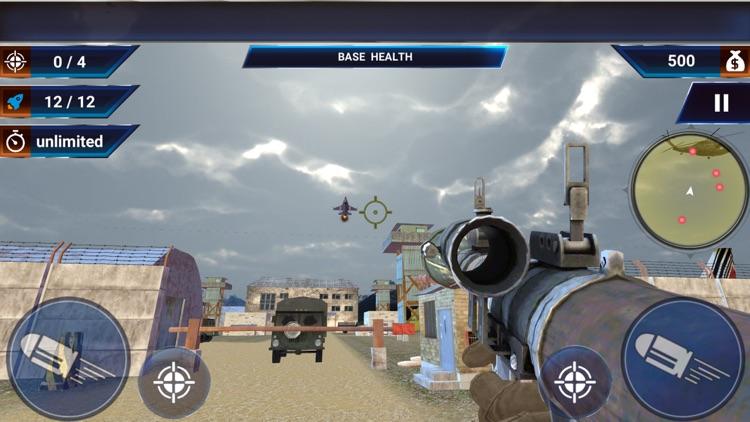 Sky Fighter Jet War Games 3D screenshot-3