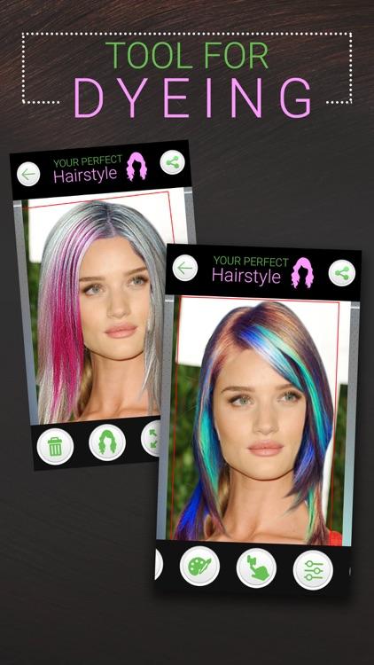 Perfect Hairstyle Women PRO screenshot-4