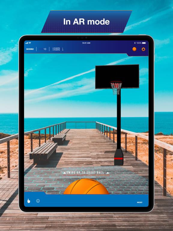 Hoops AR BasketBall Hard Mode screenshot 9