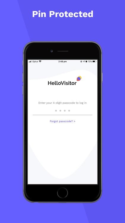 HelloVisitor Host