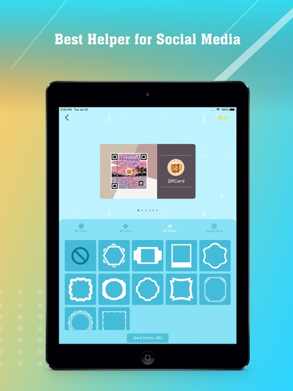 Magic Followers' QRCard Maker-ipad-2