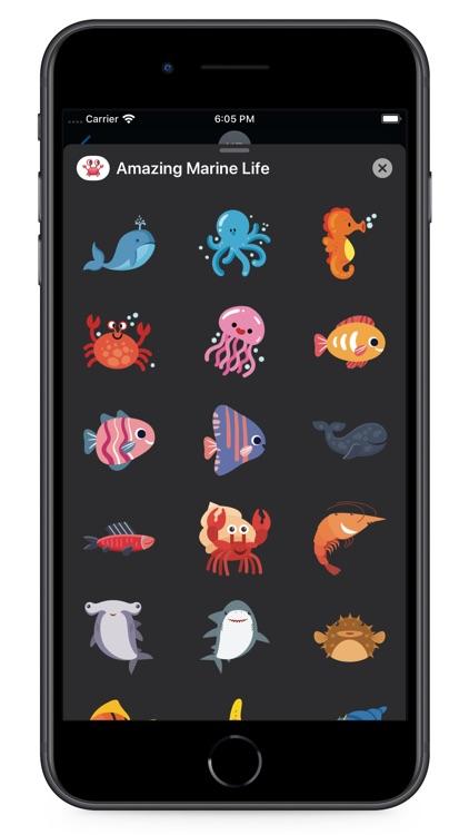 Amazing Marine Life screenshot-4