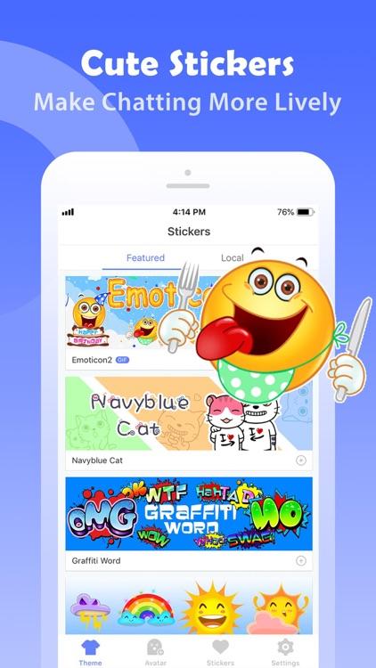 iMoji - Avatar Emoji Keyboard screenshot-3
