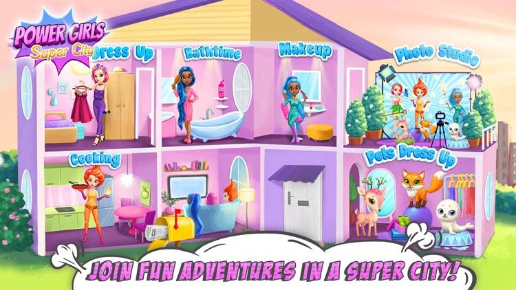 Power Girls Super City screenshot-0