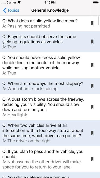 Washington DMV Test Prep screenshot-6