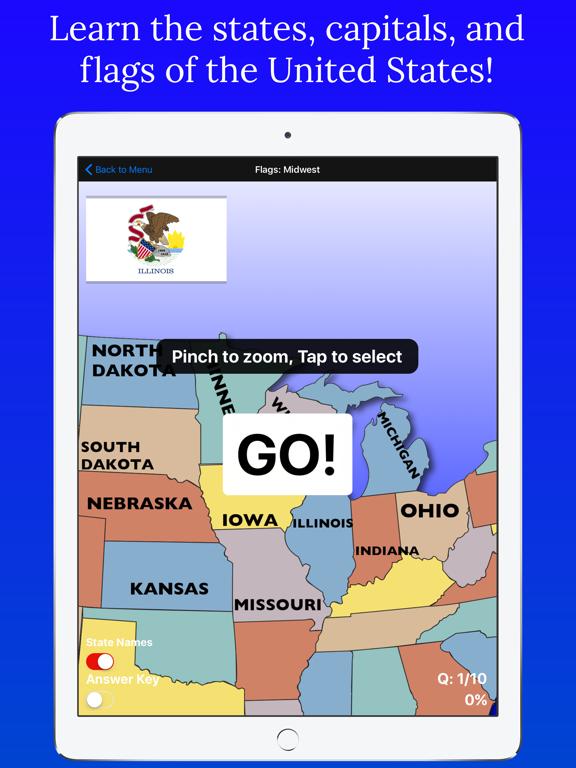 United States Map Quiz | App Price Drops