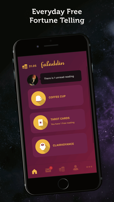 download Faladdin - Fortune Teller indir ücretsiz - windows 8 , 7 veya 10 and Mac Download now