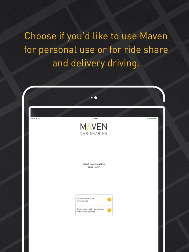 Maven – Car Sharing on the App Store
