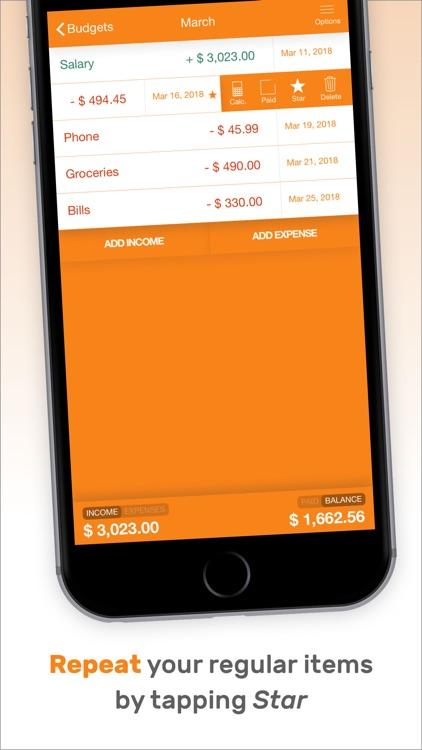 Fudget: Budget Planner Tracker screenshot-3