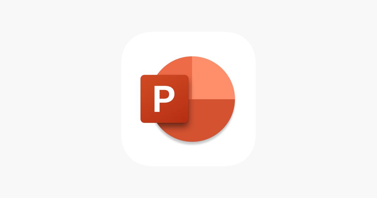 Microsoft Powerpoint Im App Store