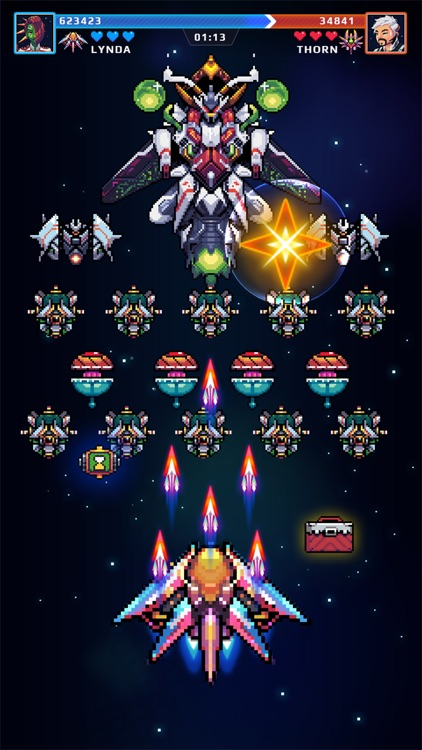 Galaxy Shooter - Falcon Squad screenshot-6