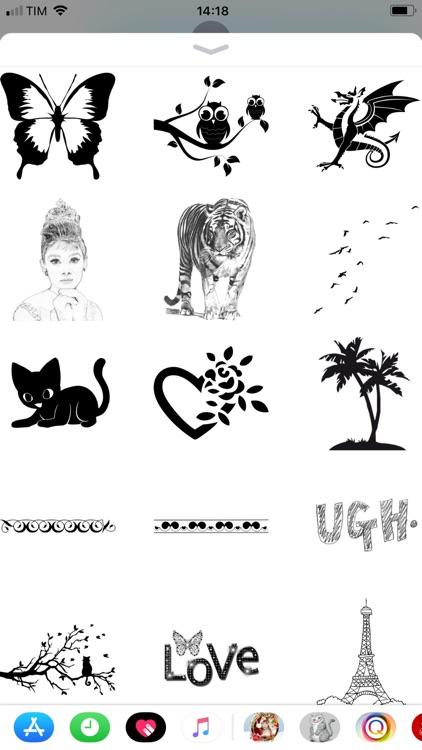 Sketch Color Pencil Stickers screenshot-3