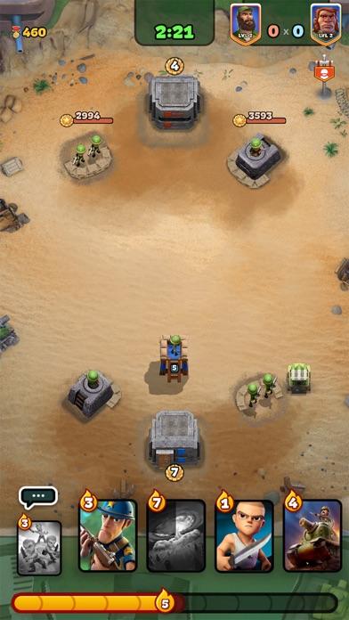 War Heroes Strategy Card Games Screenshot
