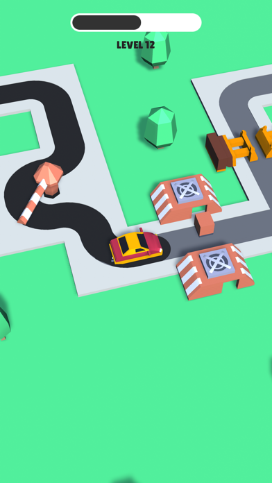 Trappy Road - Car & traps game screenshot 4