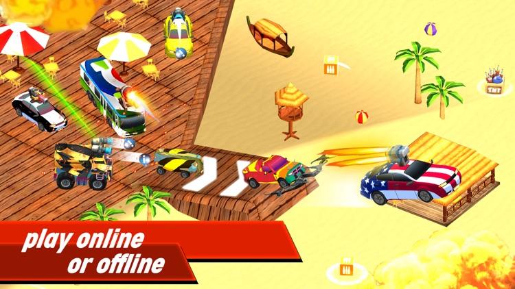 Cars Combat Off Road Drive screenshot-4