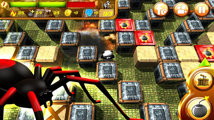 Hero Panda Bomber screenshot-3