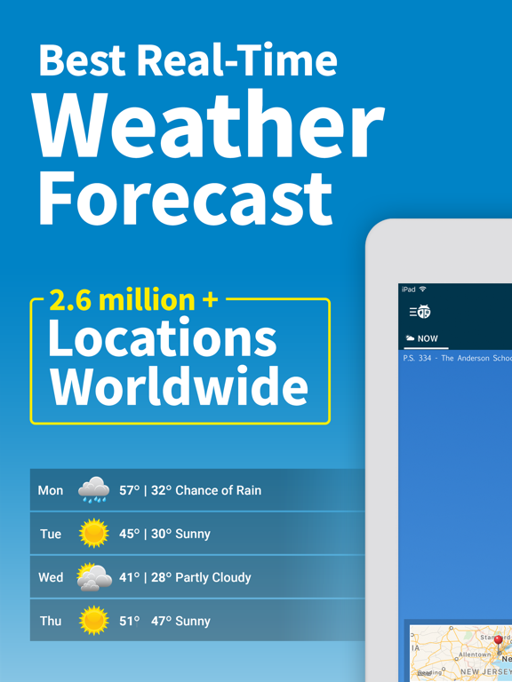 WeatherBug - Weather Forecasts & Alerts screenshot