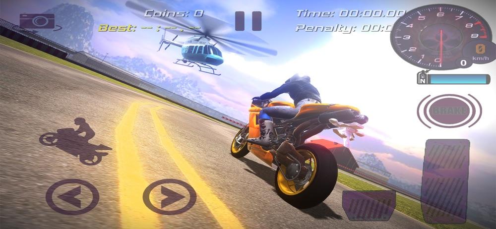 Dirt Bike Rider Stunts Race 3d hack tool