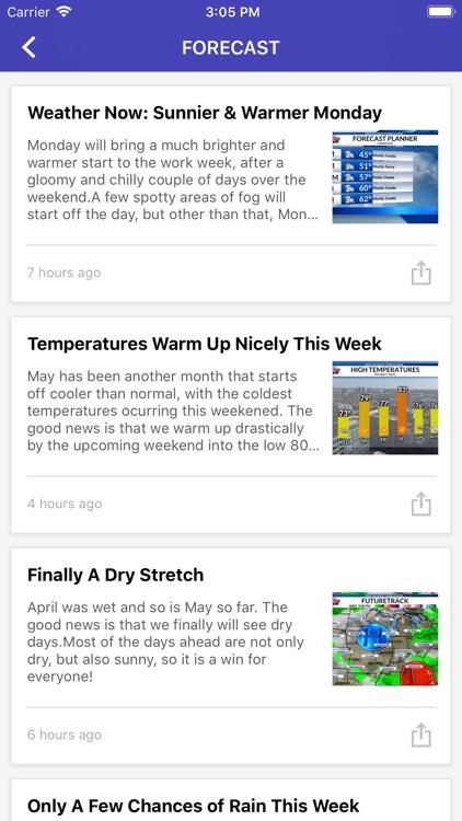 WCIA 3 Weather screenshot-4