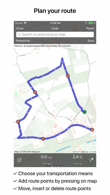 Topo GPS Belgium screenshot-5