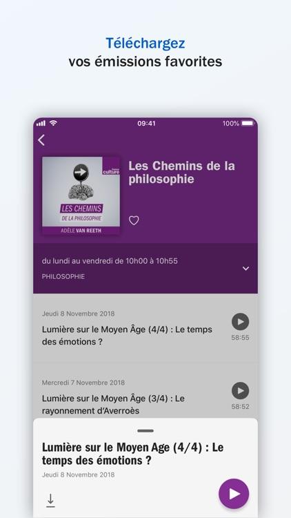 Radio France - direct, podcast screenshot-4