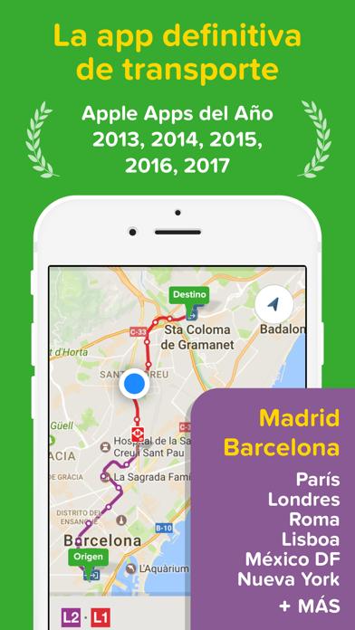 Screenshot for Citymapper - Rutas y horarios in Spain App Store