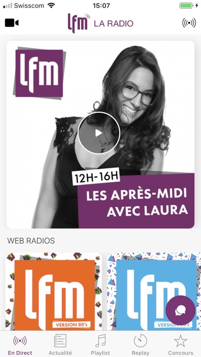 LFM screenshot one
