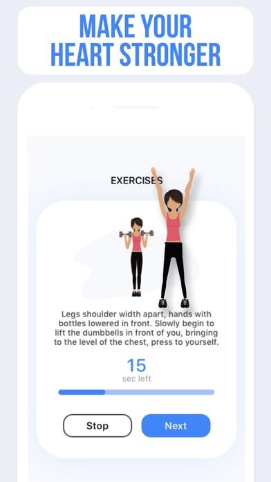 PulseInto - Fitness Workouts Screenshot