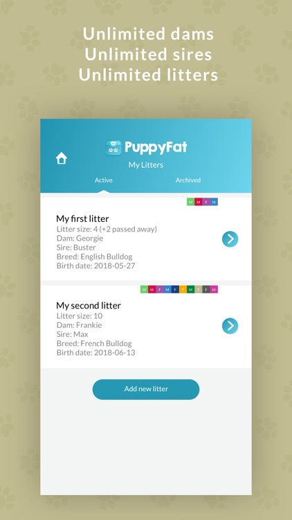 PuppyFat - Whelping Records screenshot-4