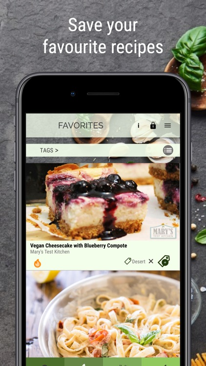 Vegan Recipe Browser