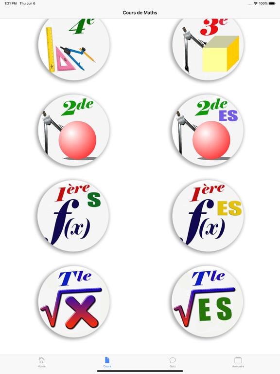 Cours de Maths screenshot 19