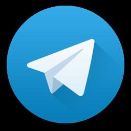 Ícone do app Telegram Desktop