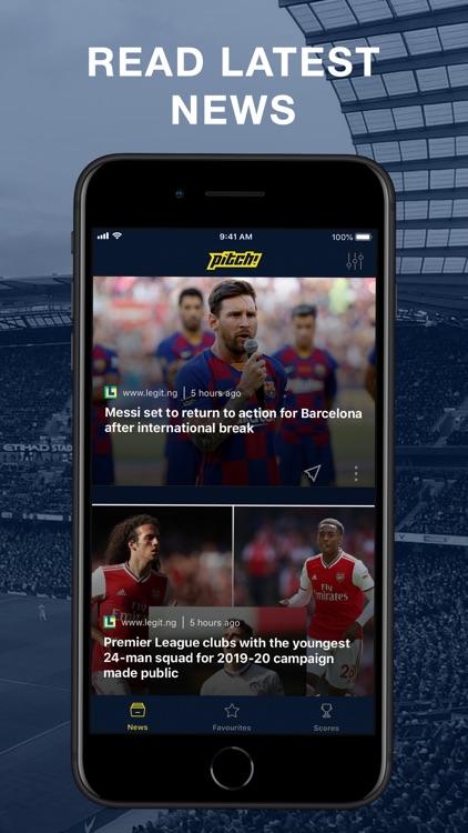 Pitch Football News & Scores screenshot-4