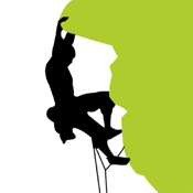 ClimbingAway, the ultimate rock climbing app icon