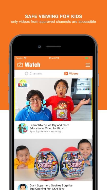 YouChoose -safer kids' videos screenshot-3