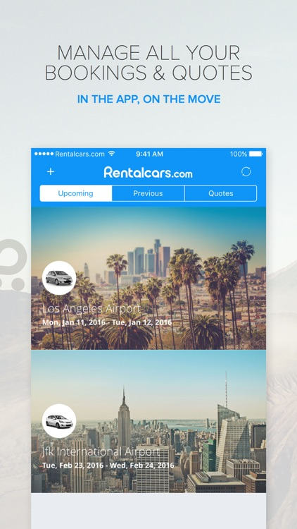 Rentalcars.com Car rental App screenshot-1